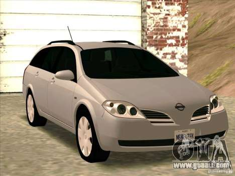 Nissan Primera Wagon for GTA San Andreas