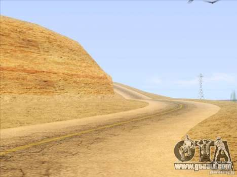 HQ Country Desert v1.3 for GTA San Andreas eighth screenshot