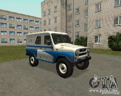 UAZ-469P for GTA San Andreas right view