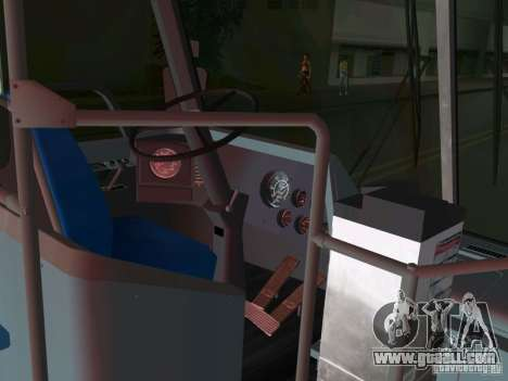 GMC RTS for GTA Vice City inner view