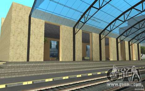 The new station in San Fierro for GTA San Andreas