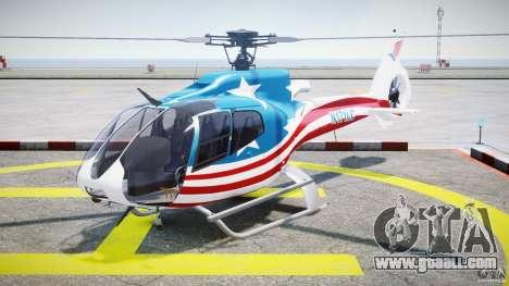 Eurocopter EC 130 B4 USA Theme for GTA 4