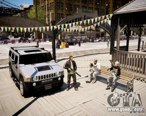 CoD Black Ops Hudson for GTA 4 third screenshot