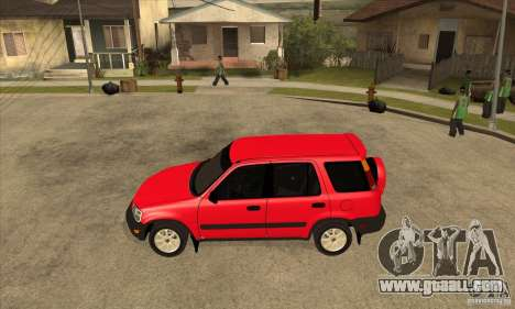 Honda CRV 1997 for GTA San Andreas left view