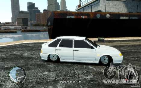 ВАЗ 2114 Tuning for GTA 4 back left view