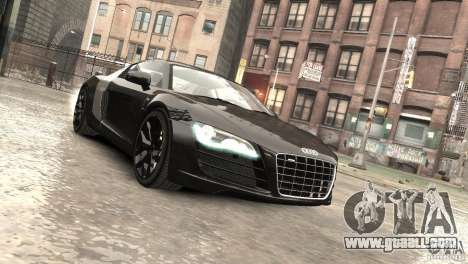 Audi R8 V10 2010 [EPM] for GTA 4 side view