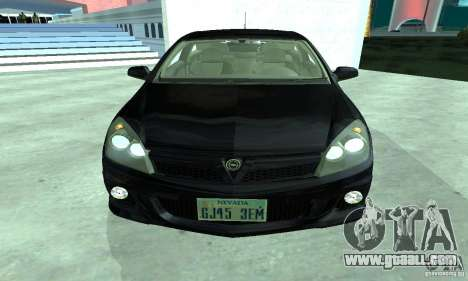 Opel Astra GTS for GTA San Andreas left view