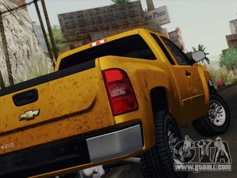 Chevrolet Silverado 2500HD 2013 for GTA San Andreas right view