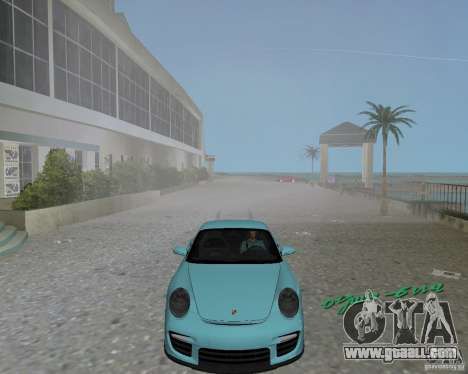 Porsche 911 GT2 for GTA Vice City left view