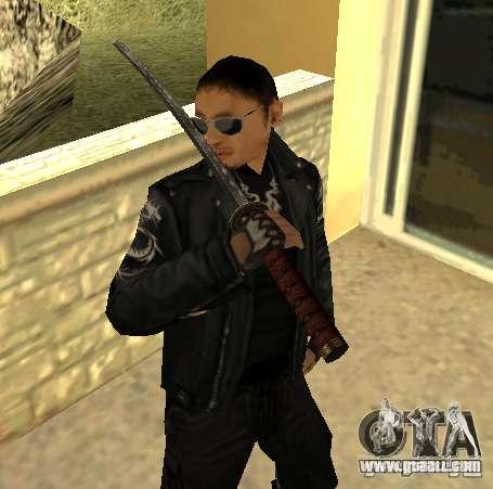 Replacement skins Yakuza for GTA San Andreas