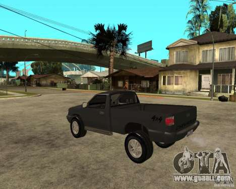 Chevrolet S-10 for GTA San Andreas left view