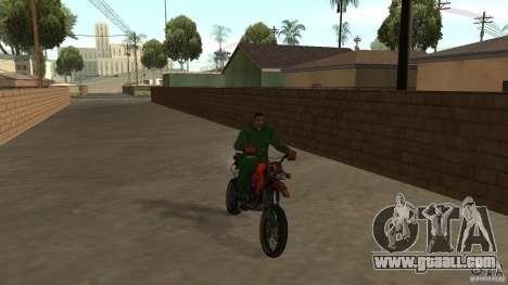 Motorcycle Mirabal for GTA San Andreas left view