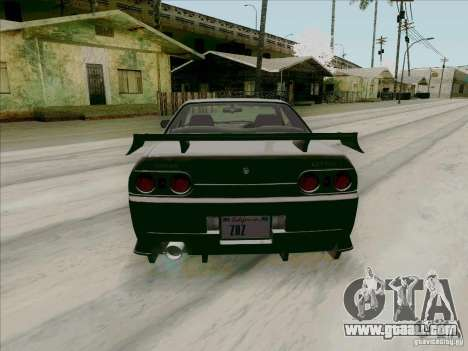 Nissan Skyline GTS-T for GTA San Andreas right view