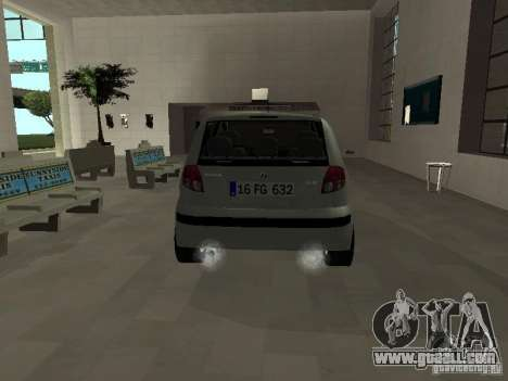 Hyundai Getz for GTA San Andreas right view