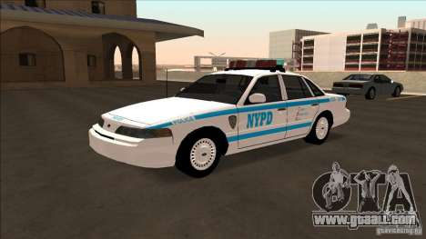 Ford Crown Victoria 1992 NYPD for GTA San Andreas