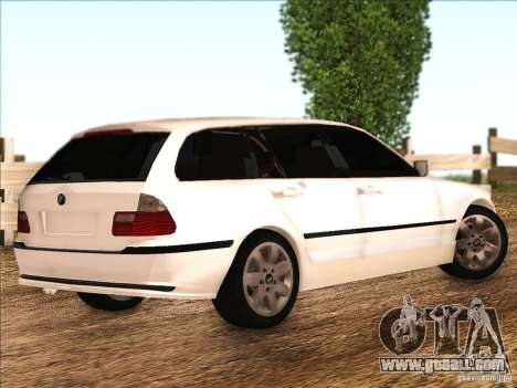 BMW M3 E46 Touring for GTA San Andreas right view