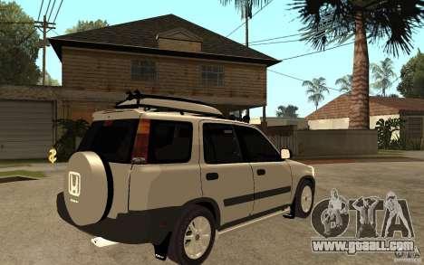 Honda CRV 1997 for GTA San Andreas right view