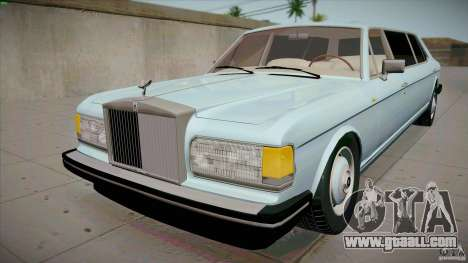Rolls-Royce Silver Spirit 1990 Limo for GTA San Andreas
