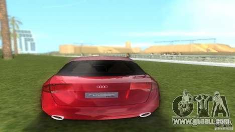Audi Nuvolari Quattro for GTA Vice City back left view