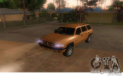 Dodge Durango 1998 for GTA San Andreas