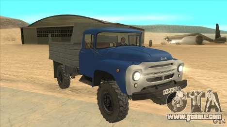 ZIL-MMZ 4502 four-wheel drive for GTA San Andreas back view