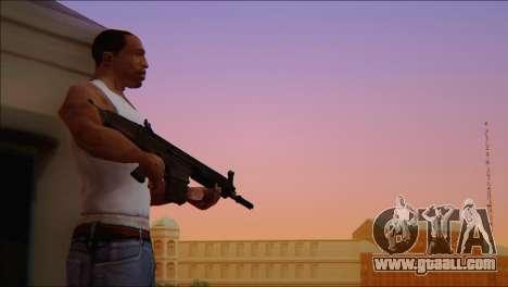 SCAR - H for GTA San Andreas fifth screenshot