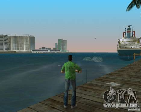 New water, newspapers, leaves, Moon for GTA Vice City second screenshot