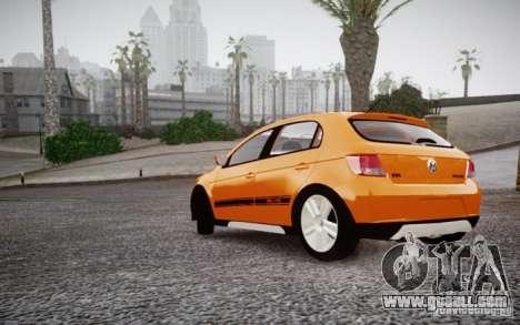 Volkswagen Gol Rallye 2012 for GTA 4 right view