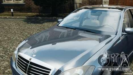 Mercedes-Benz W221 S500 2006 for GTA 4 wheels