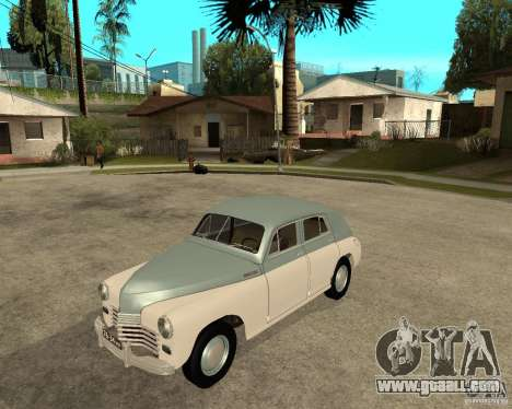 GAZ M20 Pobeda for GTA San Andreas