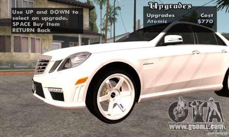 Wheels Pack by EMZone for GTA San Andreas third screenshot