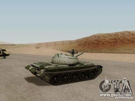 Type 59 for GTA San Andreas back left view