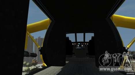 Yellow Annihilator for GTA 4 back left view