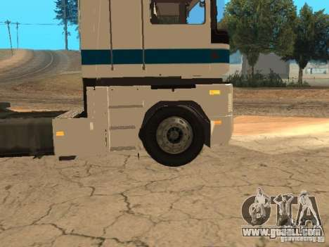 Renault Magnum Sommer Container for GTA San Andreas side view