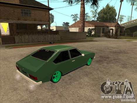 Volkswagen Passat 1.9A for GTA San Andreas right view