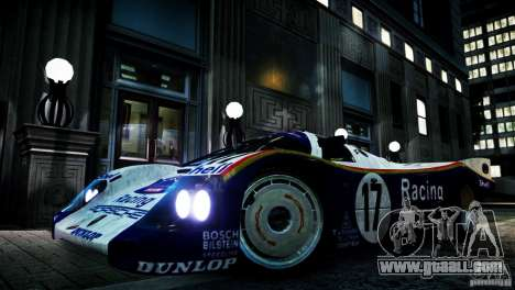 Porsche 962 for GTA 4