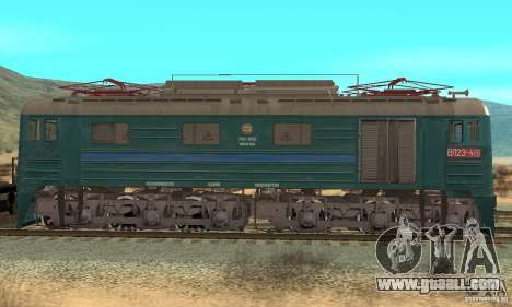 Locomotive VL23-419 for GTA San Andreas back left view