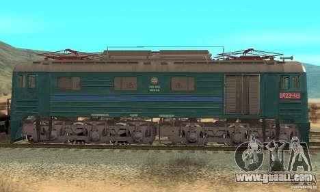 Locomotive VL23-419 for GTA San Andreas back left view
