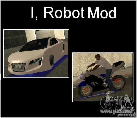 I, ROBOT MOD for GTA San Andreas