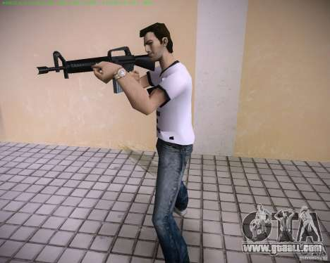 New M4 for GTA Vice City forth screenshot