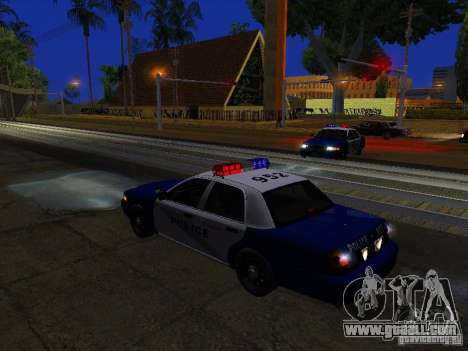 Ford Crown Victoria Belling State Washington for GTA San Andreas engine
