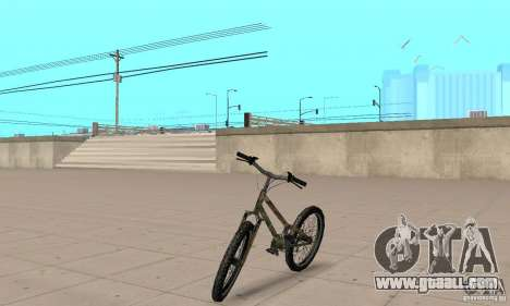 Trial bike for GTA San Andreas