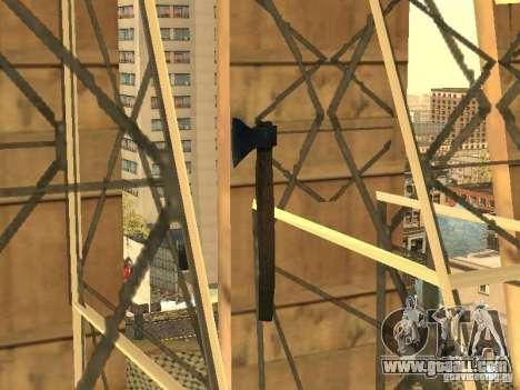 Axe for GTA San Andreas second screenshot