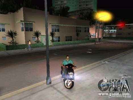 PIAGGIO NRG MC3 for GTA Vice City right view