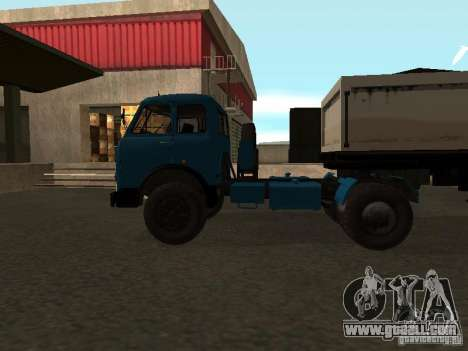 Maz-504 and for GTA San Andreas left view
