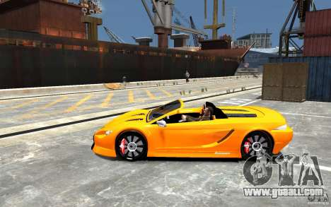 K1 Attack Concept for GTA 4 left view