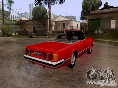 ZIL 41044 Phaeton for GTA San Andreas right view