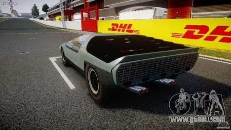 Alfa Romeo Carabo for GTA 4 back left view