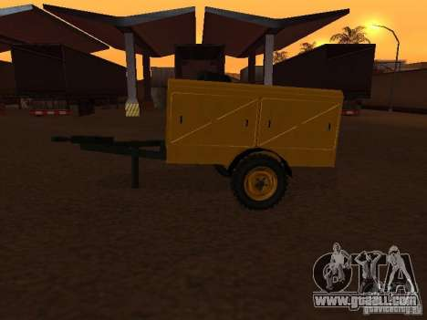 Trailer compressor station for GTA San Andreas right view