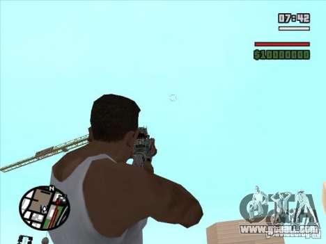 M4 from s. t. a. l. k. e. r. (a) for GTA San Andreas third screenshot